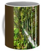 The Dappled Railings  Coffee Mug
