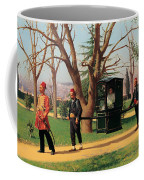 The Daughter Of The English Ambassador Riding In A Palanquin Coffee Mug
