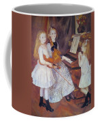 The Daughters Of Catulle Mendes Coffee Mug by Pierre Auguste Renoir