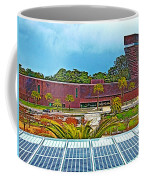 The De Young Fine Arts Museum From Roof Of California Academy Of Sciences In Golden Gate Park-ca Coffee Mug