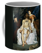 The Dead Christ And Angels Coffee Mug by Edouard Manet