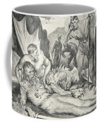 The Death Of Beowulf Coffee Mug by John Henry Frederick Bacon