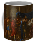 The Death Of Germanicus Coffee Mug by Nicolas Poussin