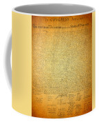 The Declaration Of Independence - America's Founding Document Coffee Mug