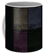 The Declaration Of Independence In Negative Colors Coffee Mug by Rob Hans