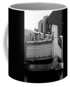 The Delft Marquette Mi Coffee Mug