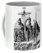 The Descent From The Cross Coffee Mug by Andrea Mantegna