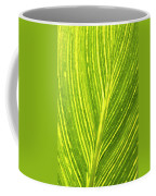 The Detail Of Plant Leaf, Salt Lake Coffee Mug