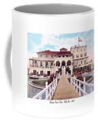 The Detroit Boat Club - Belle Isle - 1910 Coffee Mug