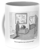 The Devil Stands Before A Male Secretary / Coffee Mug