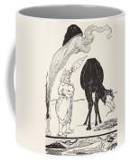 The Djinn In Charge Of All Deserts Guiding The Magic With His Magic Fan Coffee Mug by Joseph Rudyard Kipling