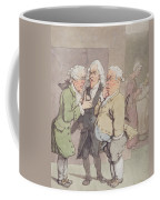 The Doctors Consultation, 1815-1820 Pen And Ink And Wc Over Graphite On Paper Coffee Mug