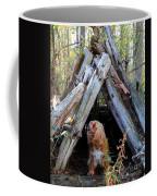 The Dog In The Teepee Coffee Mug