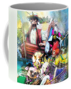 The Dogs Parade In New Orleans Coffee Mug
