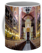 The Dohany Street Synagogue Budapest Coffee Mug