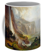 The Domes Of The Yosemite Coffee Mug