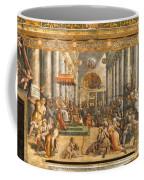 The Donation Of Rome. Coffee Mug