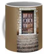The Door At Number 5 Coffee Mug