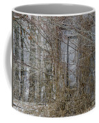 The Door To The Past Coffee Mug by Wilma  Birdwell