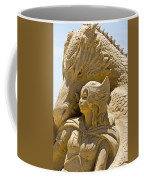 The Dragon And The Goddess Coffee Mug by Tom Gari Gallery-Three-Photography