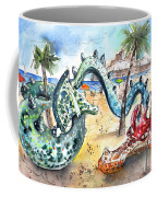 The Dragon From Penicosla Coffee Mug