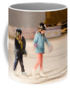 The Dreams Of Little Skaters  Coffee Mug