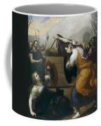 The Duel Of Isabella De Carazzi And Diambra De Pottinella Coffee Mug