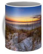 The Dunes At Sunset Coffee Mug by Debra and Dave Vanderlaan