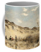 The Dunes Of Dunkirk Coffee Mug by Jean Baptiste Camille Corot