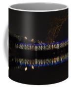 The East Falls Bridge At Night - Philadelphia Coffee Mug