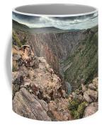 The Edge Of Back Canyon Coffee Mug