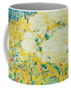 The Elderflower Tree Oil On Canvas Coffee Mug