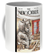 The Elephant In The Room Coffee Mug