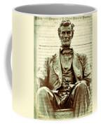 The  Emancipation Proclamation And Abraham Lincoln Coffee Mug