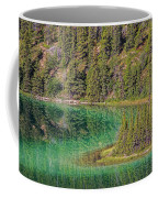The Emerald Green Waters Of Emerald Coffee Mug