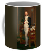 The Emperor Napoleon In His Study 1812 Coffee Mug