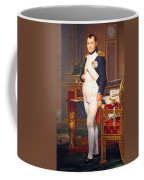 The Emperor Napoleon In His Study At The Tuileries By Jacques Louis David Coffee Mug