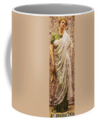The End Of The Story Coffee Mug by Albert Joseph Moore