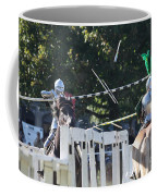 The End To The Jousting Contest  Coffee Mug