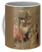The Entombment Of Christ Coffee Mug by Barocci