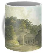 The Entrance To The Elephanta Cave Coffee Mug
