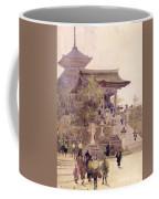 The Entrance To The Temple Of Kiyomizu Dera Kyoto Coffee Mug