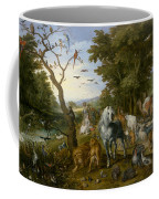 The Entry Of The Animals Into Noahs Ark Coffee Mug