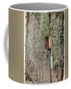 Birdhouse Environment Of Hamilton Marsh  Coffee Mug