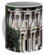 The Ephesus Library In Turkey Coffee Mug