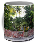 The Ernest Hemingway House - Key West Coffee Mug
