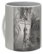 The Escape Of David Through The Window Coffee Mug by Gustave Dore