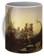 The Evening Coffee Mug by Charles Gleyre