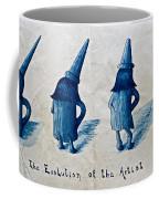 The Evolution Of The Artist Coffee Mug