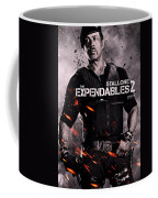 The Expendables 2 Stallone Coffee Mug